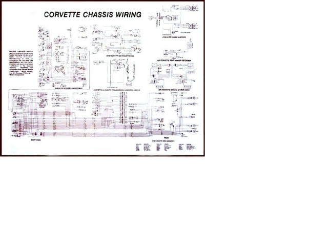 1976 Corvette Diagram, electrical wiring: CorvetteParts.com