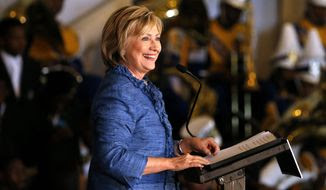 A veteran Democratic campaign strategist says Democratic presidential candidate Hillary Rodham Clinton's comeback in the polls is more about rival Sen. Bernard Sanders slipping than Mrs. Clinton rallying because of her campaign's charm offensive. (Associated Press)