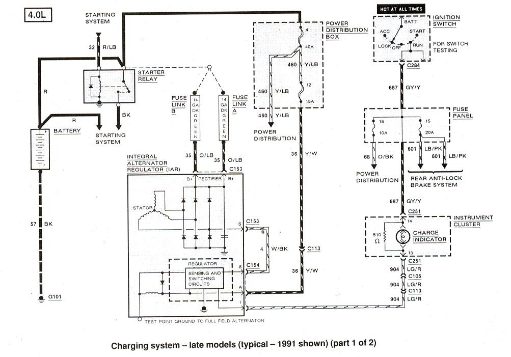 1981 Ford Bronco Wiring Diagram
