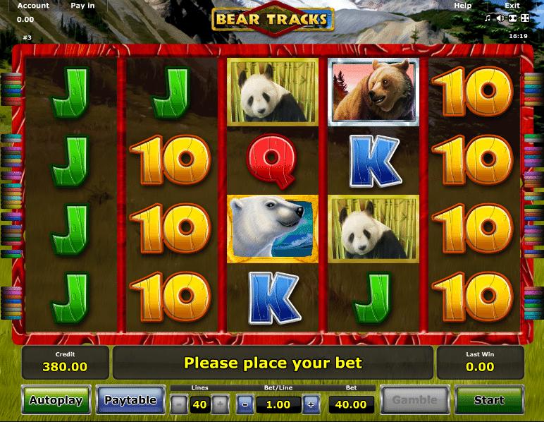 Spa villa bear tracks novomatic casino slots history jackpots