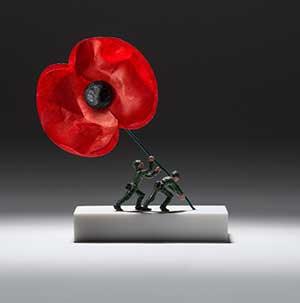 Nic Joly, miniature sculptures, tiny, small, art,