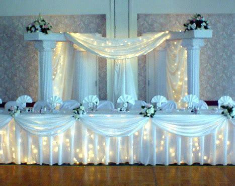 wedding column rentals seattle tacoma