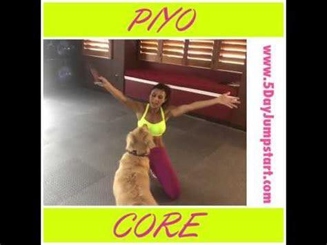 piyo core workout youtube