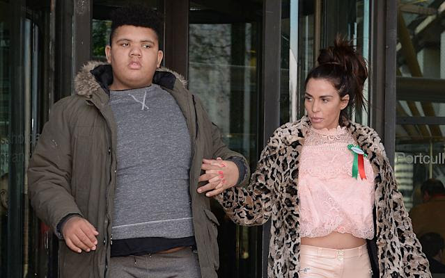 Katie Price releasing book about her life with son Harvey