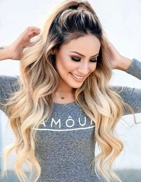 Casual updos for long thick hair