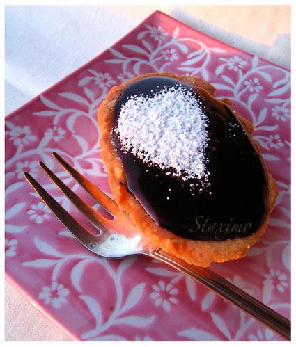 Crostata al Cioccolato con Frolla alle Nocciole