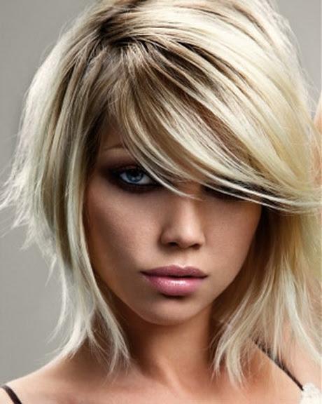 Trendige Frisuren Halblanges Haar