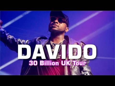 Enjoy Davido Live Performances In United Kingdom