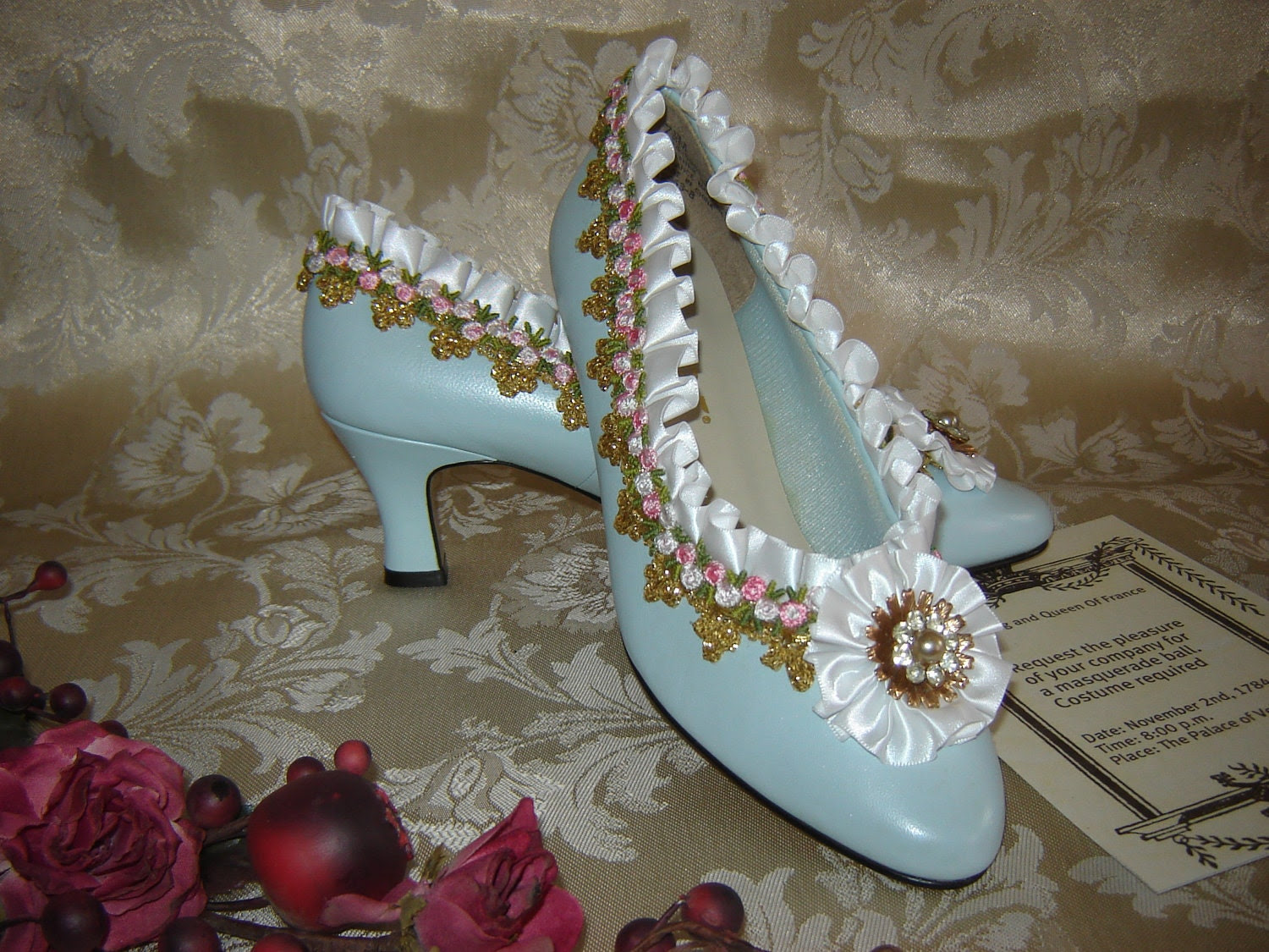 Marie Antoinette Wedding, Prom, Party shoes