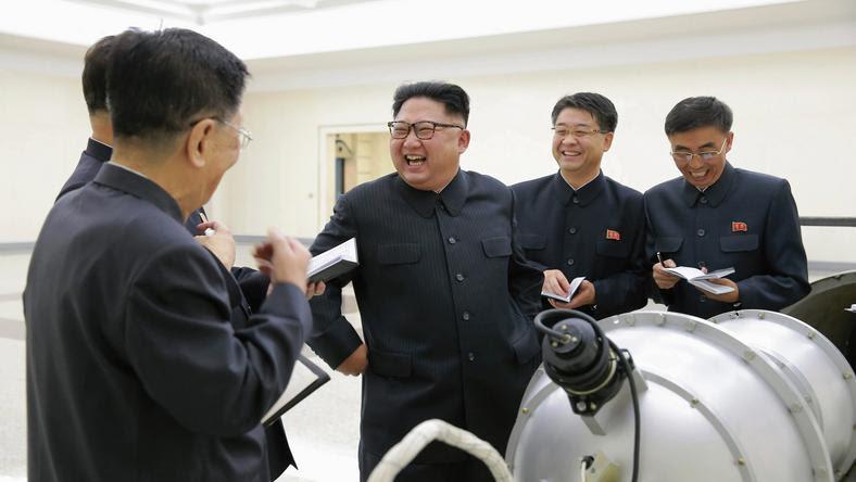 Reżim Kim Dzong-Una przeprowadził ostatnio próbę nuklearną