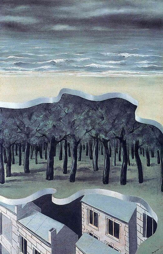 Popular Panorama, 1926 by Rene Magritte