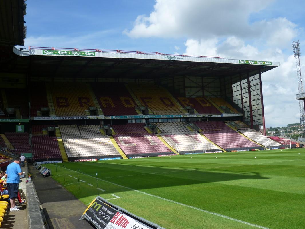 Bradford City - The Coral Windows Stadium - Chapalar's ...