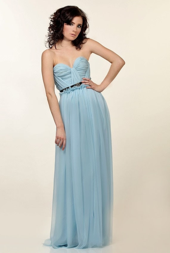 Lovely Cinderella Silk Chiffon Gown