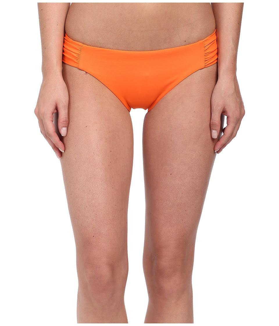 BECCA by Rebecca Virtue - Color Code Tab American Bottom (Nectarine) Women's Swimwear