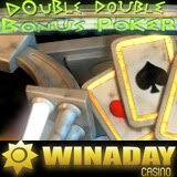 Double Double Bonus Poker video poker at WinADayCasino