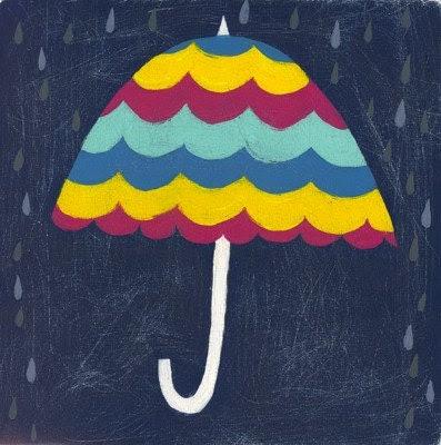 umbrella love - limited edition print