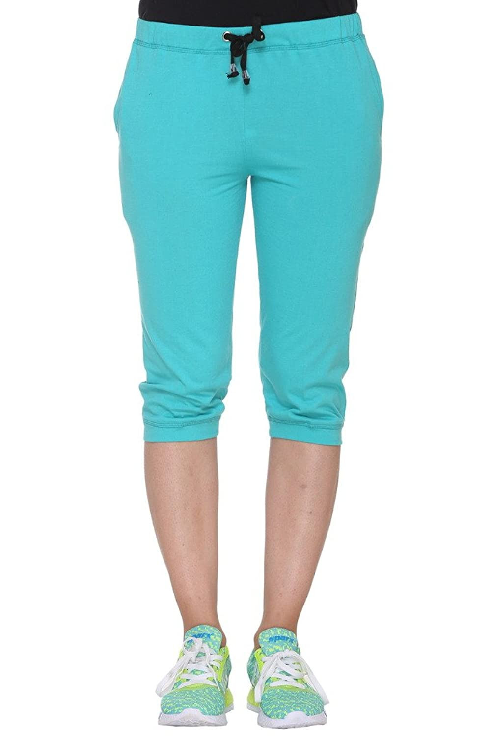 Deals on Vimal Cotton Blended Capri For Women
