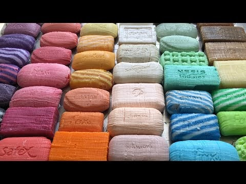 Best Carving and Cutting of 50 Asmr Soap Cubes for Relaxing your mind.