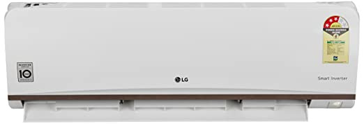 LG 1 Ton 3 Star Inverter Split AC (Alloy, JS-Q12CPXD, White) with standard installation at Rs. 499*