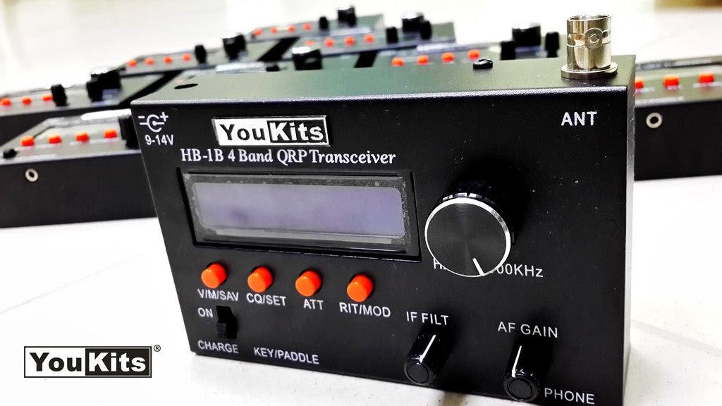 Youkits HB-1B MK3 4 band QRP CW transceiver