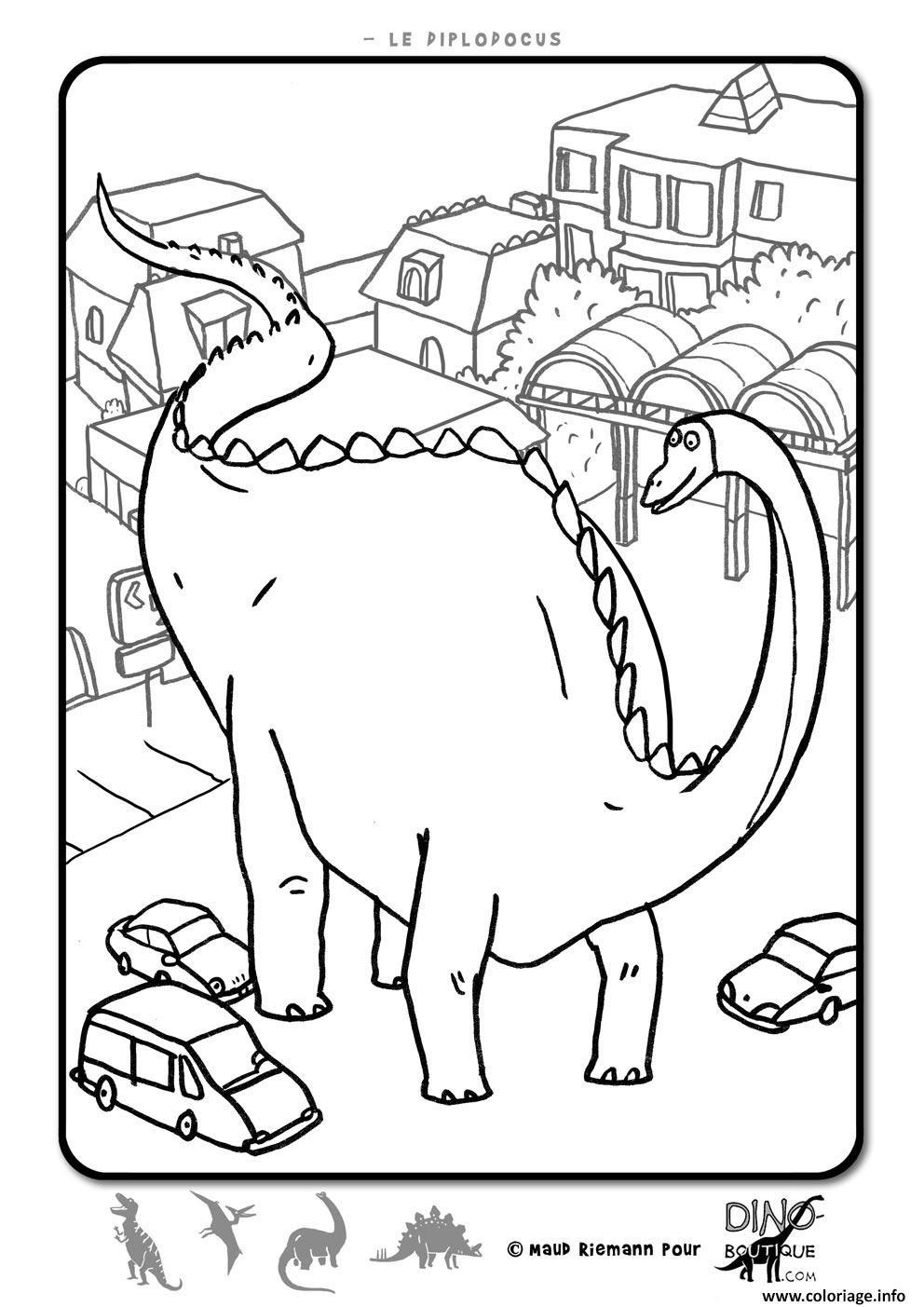 Coloriage Dinosaure 33 Dessin  Imprimer