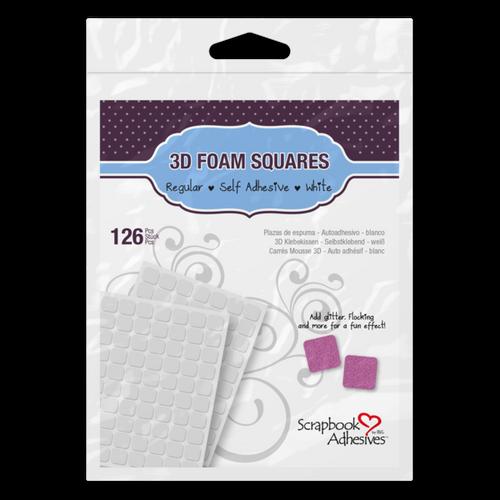 Scrapbook Adhesives Square White