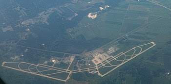 English: An aerial photograph from a Porter Ai...