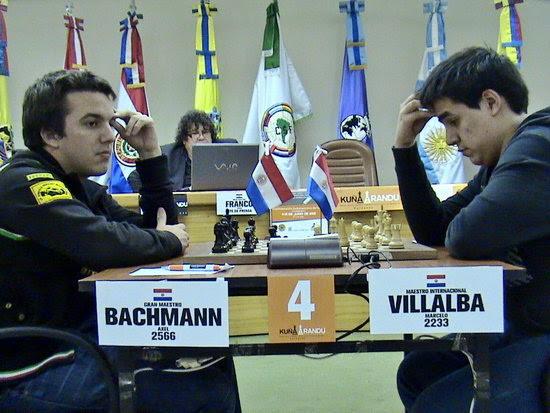 Partidade Axel Bachmann vs. Marcelo Villalba