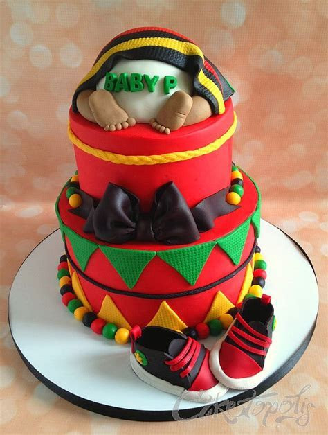 Best 25  Rasta cake ideas on Pinterest   Rasta party, Bob