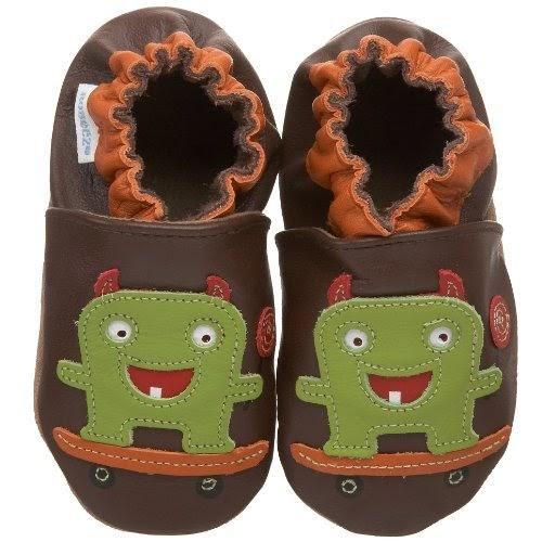 Robeez Soft Soles Kids Lollipop Monster Soft Sole Shoes