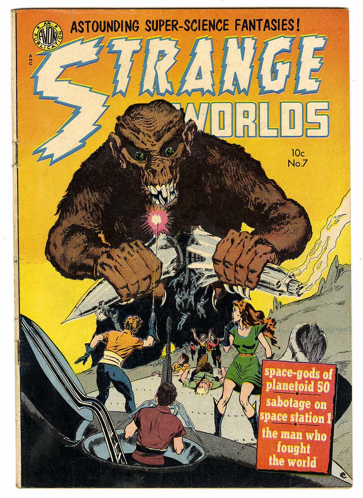 Strange Worlds #7 (Avon)