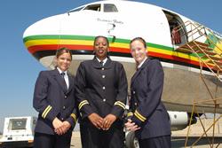 Air Zimbabwe crew