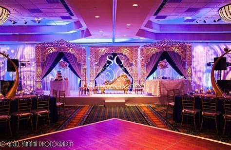 event decor, event design, Florida Indian wedding