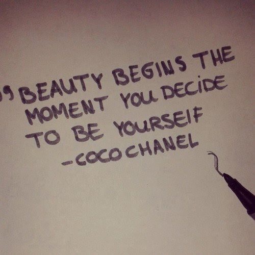 Coco Chanel Quotes On Beauty. QuotesGram