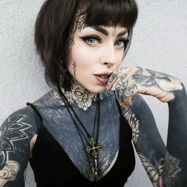 65 Best Face Tattoo Designs Ideas Enjoy Yourself 2018