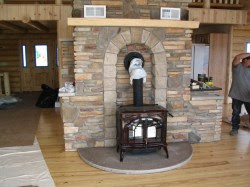 Peachy Blower Wood Stove Hearth Tile Ideas Wood Stove Hearth