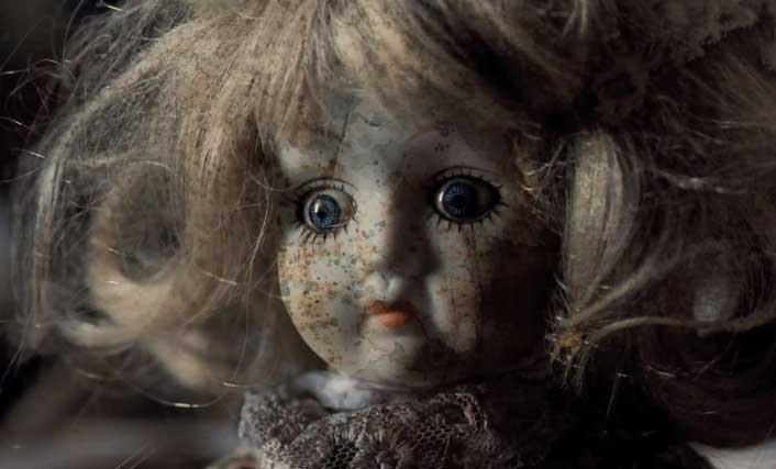 Nothing like a spooky doll to get your horror movie going.