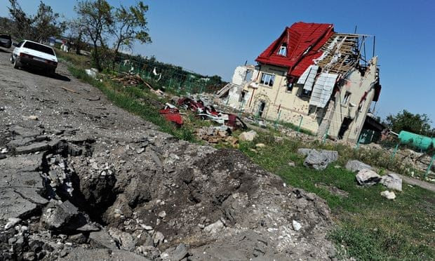Fighting Resumes In Pro-Russian Stronghold Of Eastern Ukraine