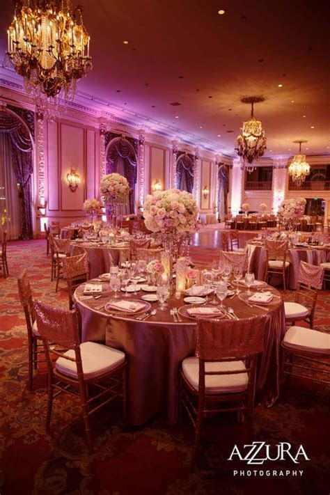 Blush Fairmont Olympic Hotel Wedding by Flora Nova Design