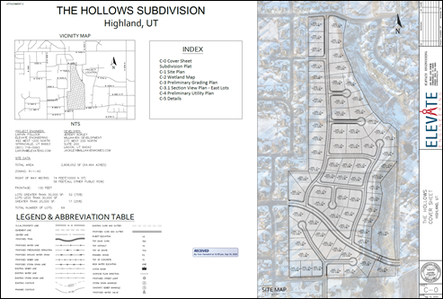 2020-09-15 The Hollows Site Map