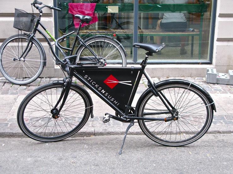 Free advertising bike