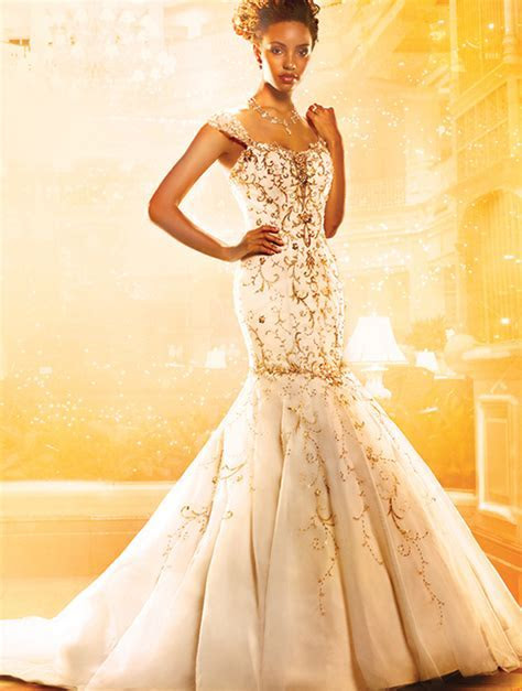 Alfred Angelo disney Tiana gown