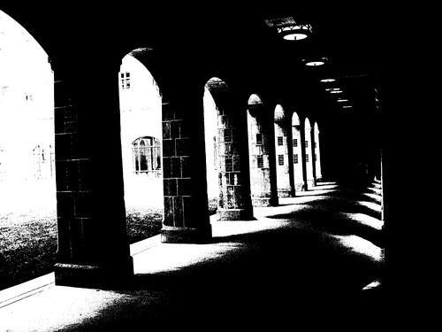 North Quad arches