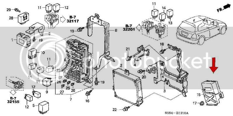 02 05 Civic Si Ep3 Eps Control Unit Honda Acura K20a K24a Engine Forum