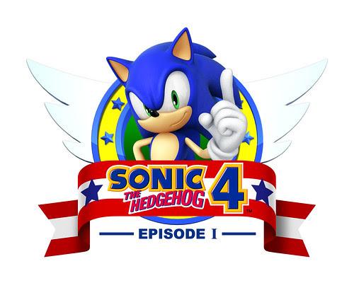 SONIC THE HEDGEHOG™ 4 Episode I Logo