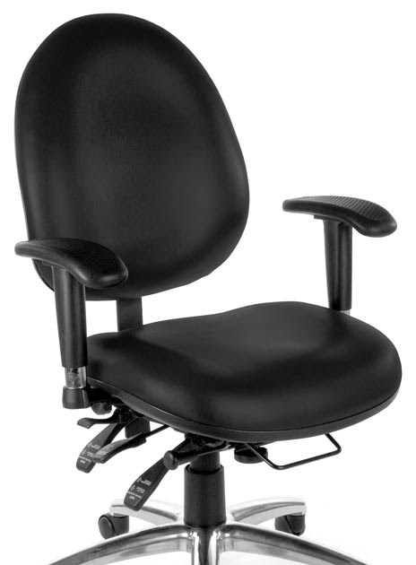 Buy Cheap Vinyl 24 Hour Computer Task Chair by OFM | Shop ...