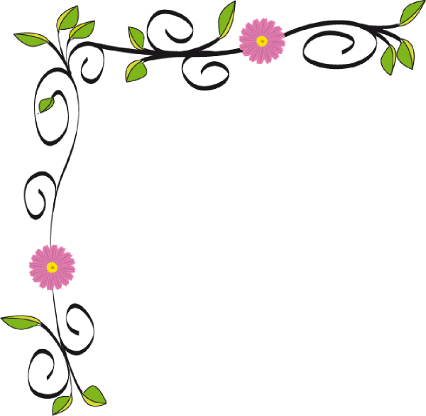 floral border hi