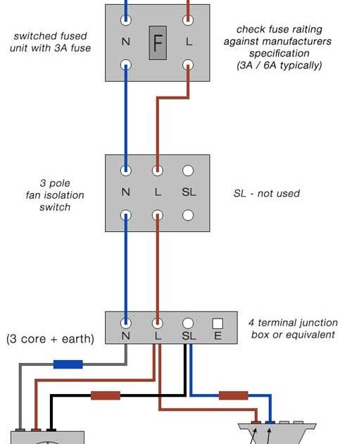 Bathroom Extractor Fan Wiring Diagram