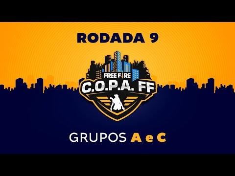 FREE FIRE: C.O.P.A. FF - Rodada 9 - Grupos A e C