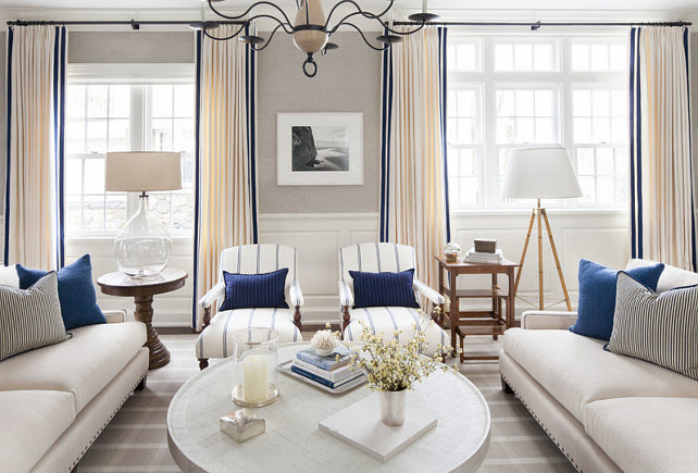 East Coast House With Blue And White Coastal Interiors Home Bunch